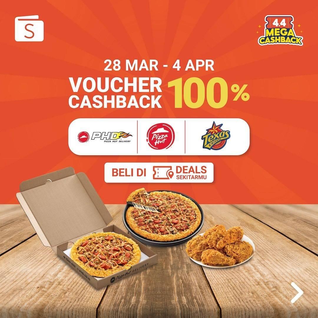 Diskon Shopeepay Voucher Cashback 100% On Selected Merchants