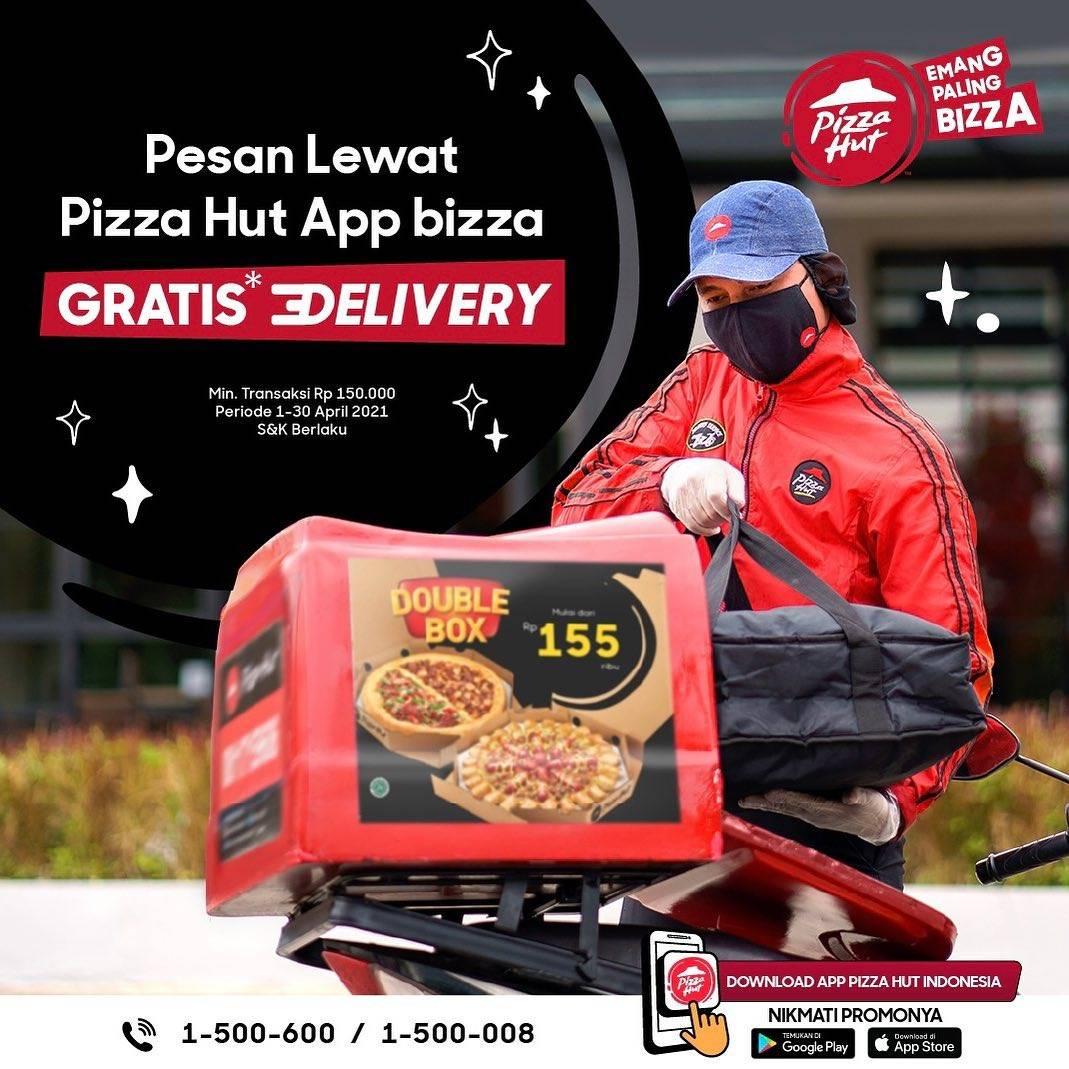 Diskon Pizza Hut Free Delivery