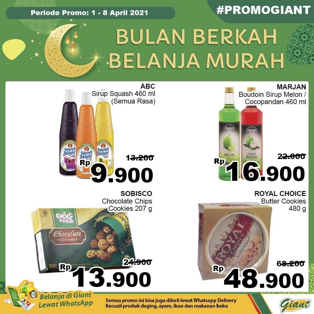 Promo diskon Katalog Promo Giant Hemat JSM Terbaru Periode 1 April - 8 April 2021