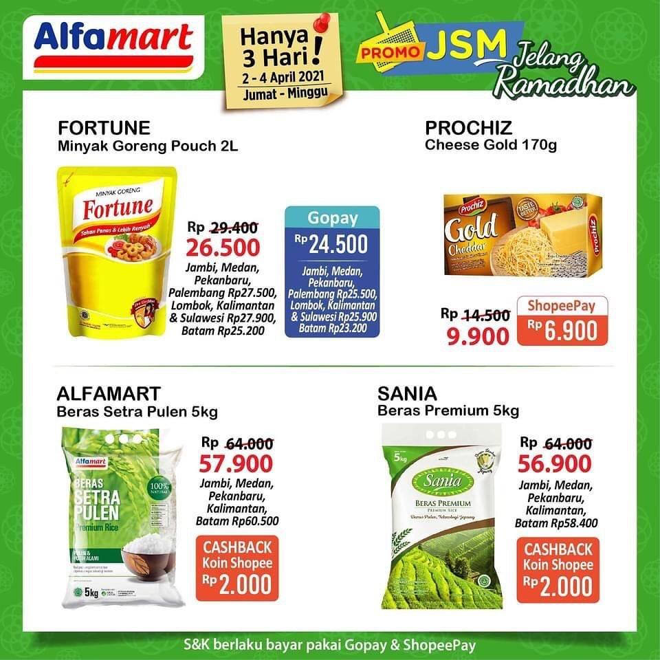 Diskon Katalog Promo Alfamart JSM Terbaru Periode 2 - 4 April 2021