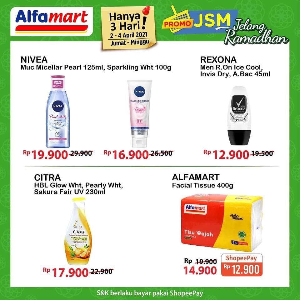 Promo diskon Katalog Promo Alfamart JSM Terbaru Periode 2 - 4 April 2021