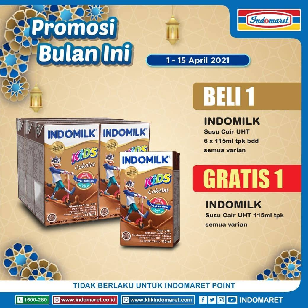 Promo diskon Katalog Promo Indomaret Promosi Bulan Ini Periode 1 - 15 April 2021
