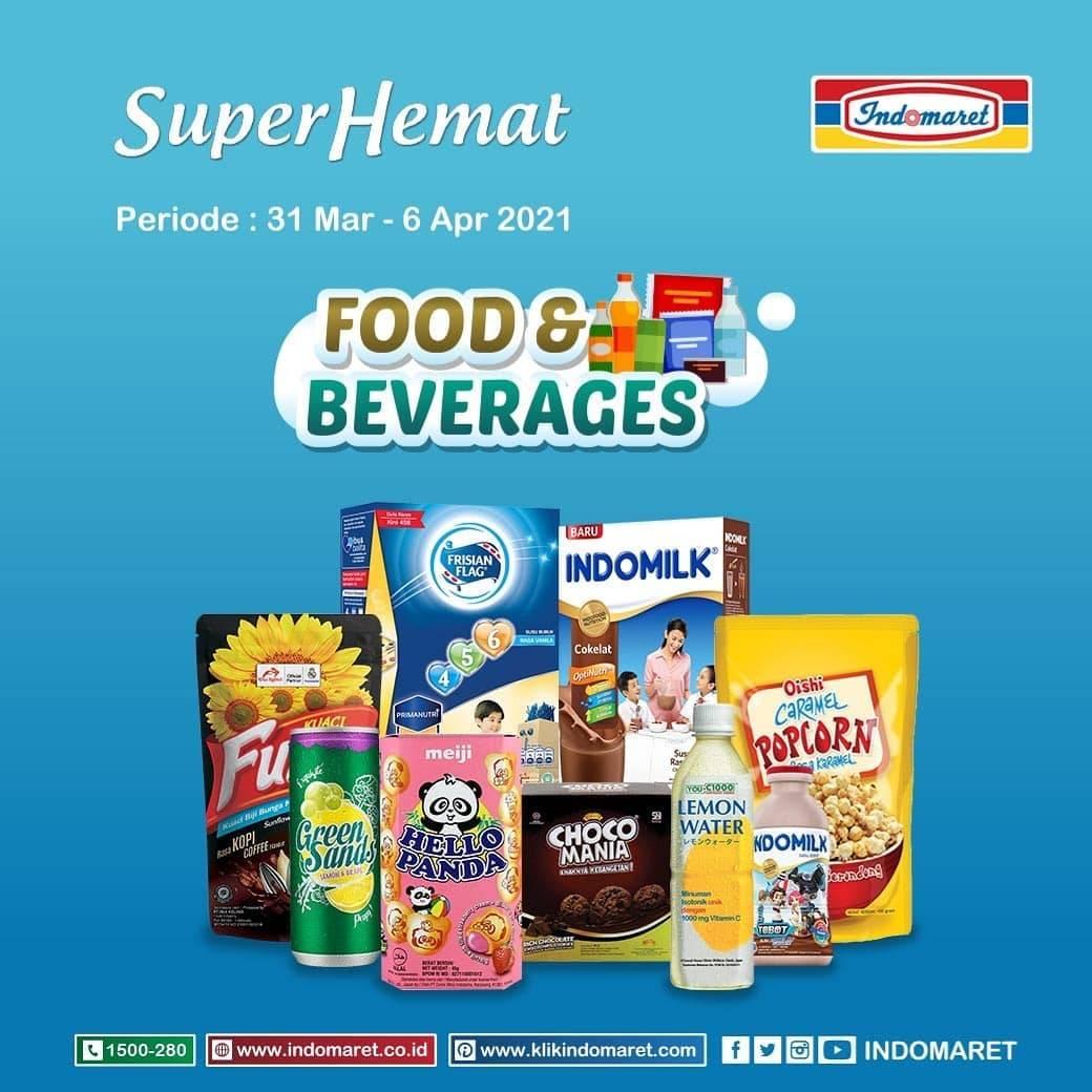 Diskon Katalog Promo Indomaret Super Hemat Terlengkap Periode 31 Maret - 6 April 2021