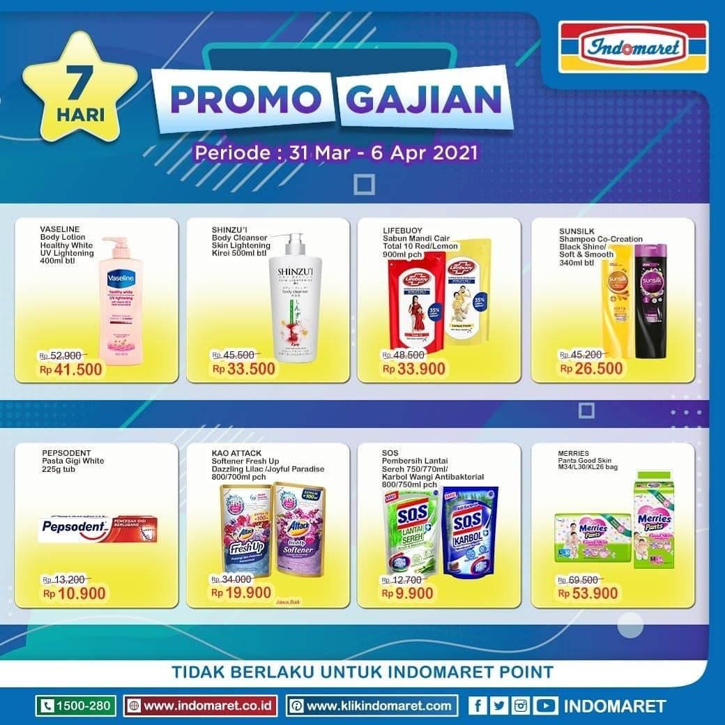Promo diskon Katalog Promo Indomaret Super Hemat Terlengkap Periode 31 Maret - 6 April 2021