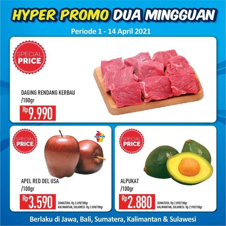 Diskon Katalog Promo Hypermart Dua Mingguan Periode 1 - 14 April 2021