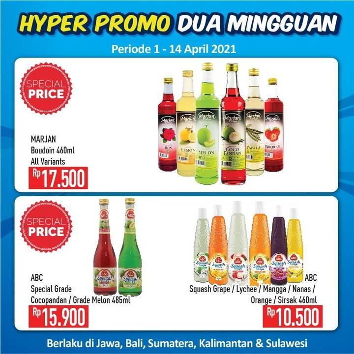 Promo diskon Katalog Promo Hypermart Dua Mingguan Periode 1 - 14 April 2021