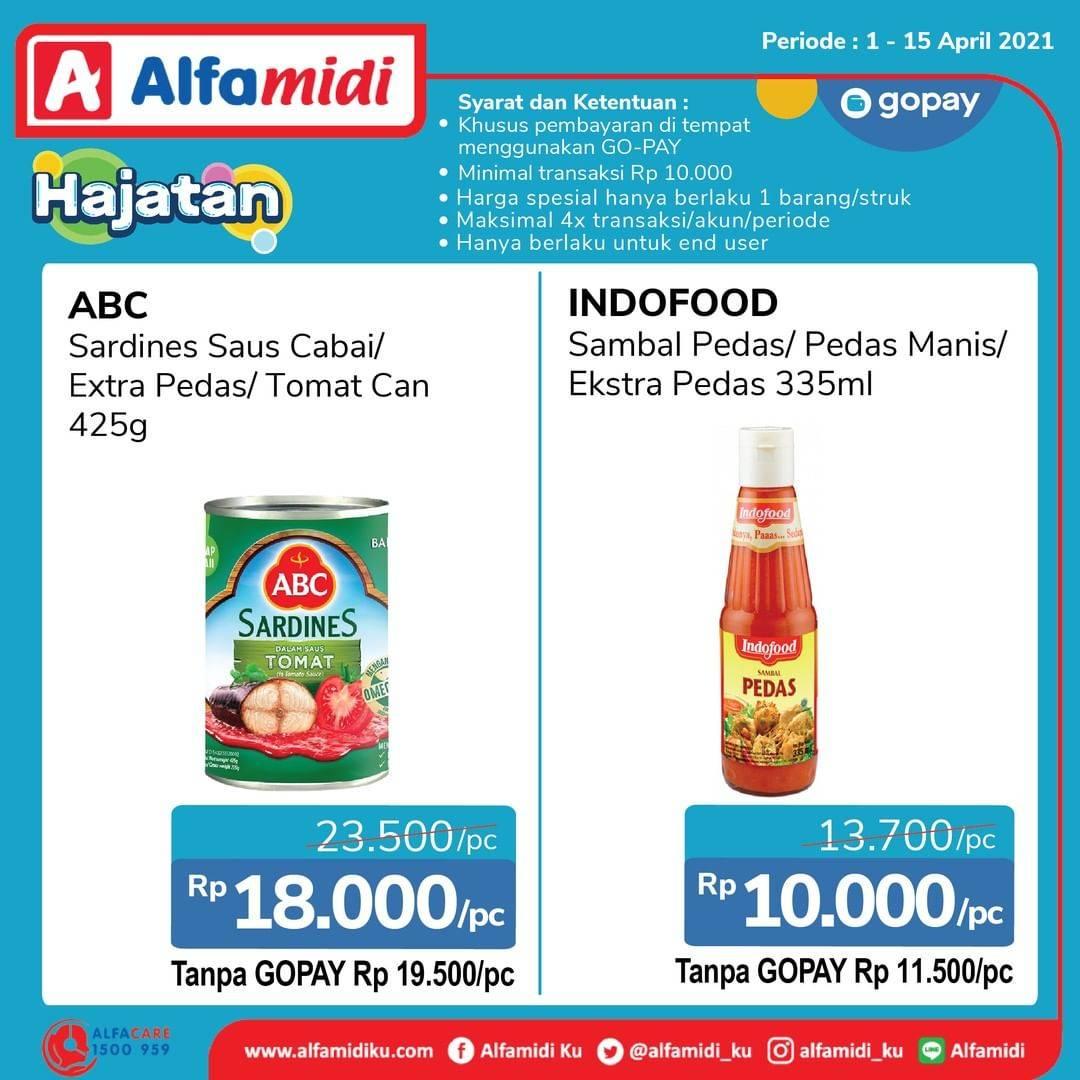 Promo diskon Katalog Promo Alfamidi Hajatan Gopay Periode 1 - 15 April 2021