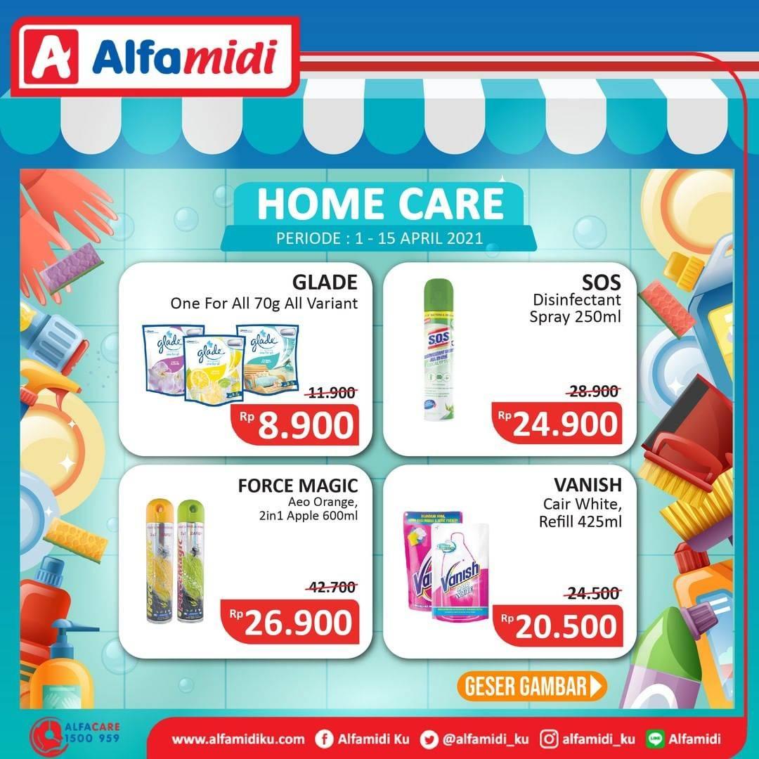 Diskon Katalog Promo Alfamidi Home Care Murah Periode 1 - 15 April 2021