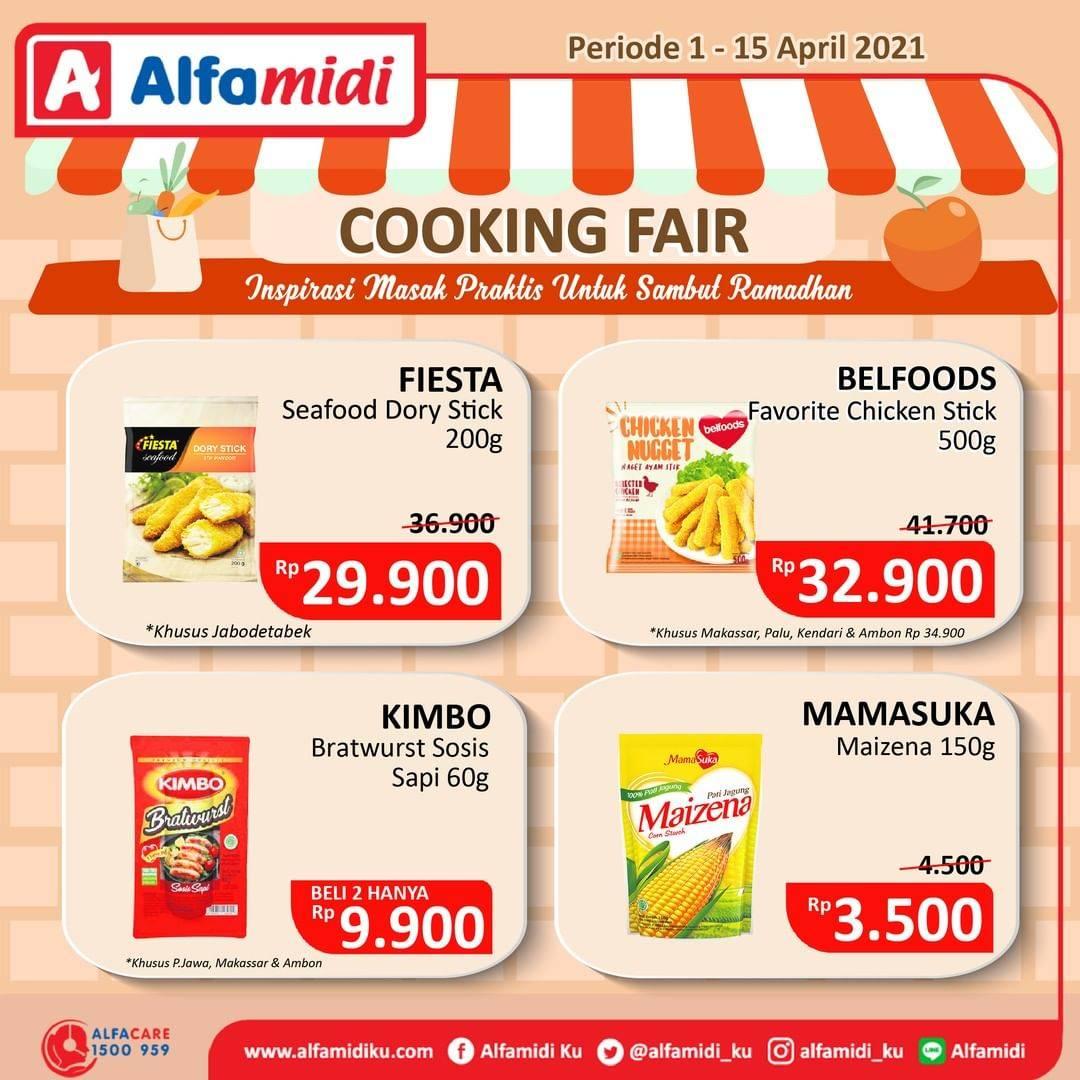 Diskon Katalog Promo Alfamidi Cooking Fair Periode 1 - 15 April 2021