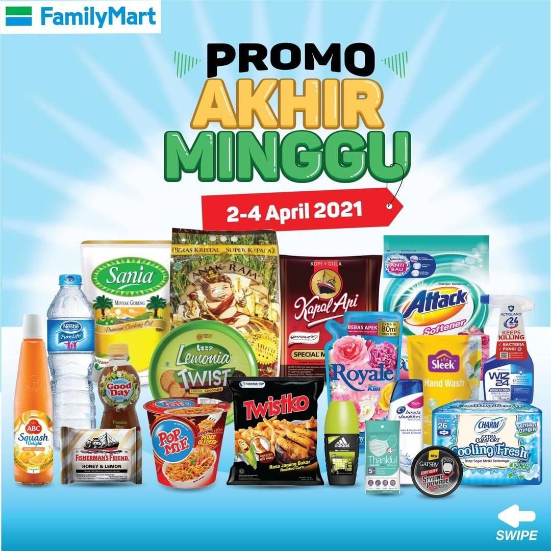 Diskon Katalog Promo FamilyMart JSM Periode 2 - 4 April 2021