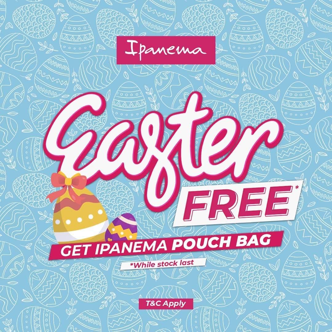 Diskon Ipanema Get Free Pouch Bag
