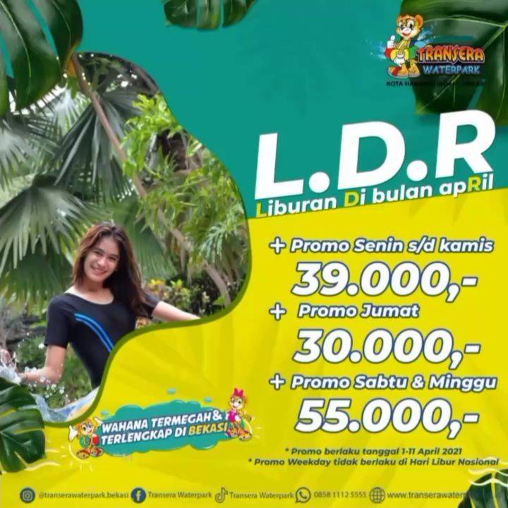 Diskon Transera Waterpark Promo Liburan Di Bulan April