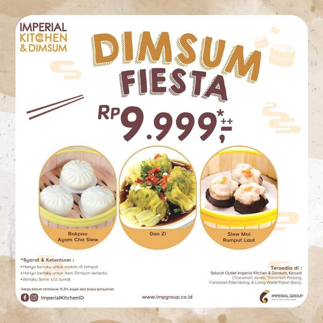 Diskon Imperial Kitchen Promo Dimsum Fiesta Rp. 9.999++