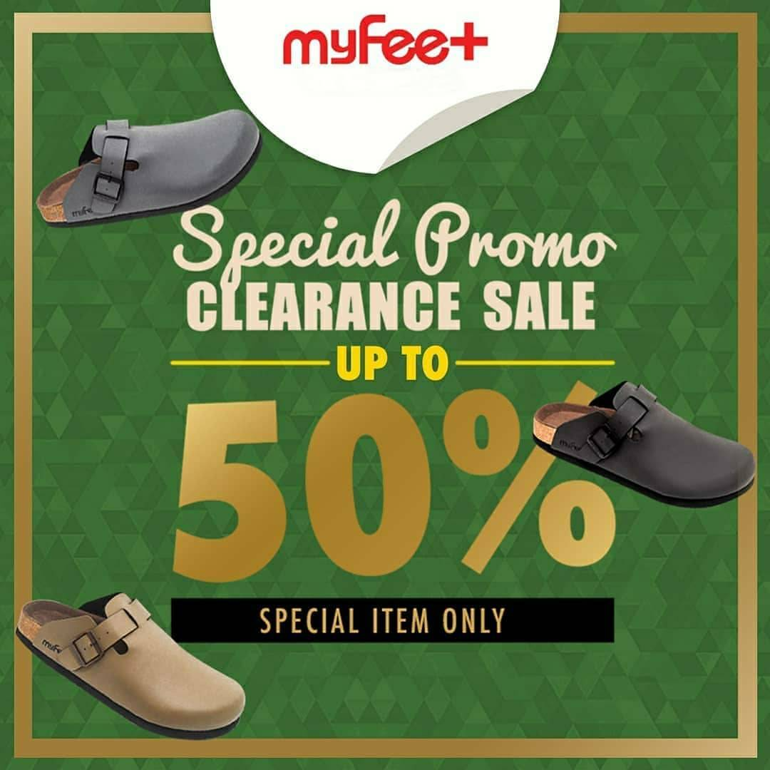 Diskon My Feet Discount Up To 50% Off On Special Item