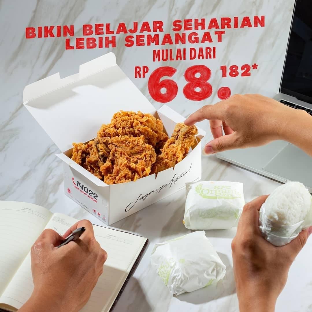 Promo diskon KFC Promo 5 Ayam + 3 Nasi Hanya Rp. 68.182
