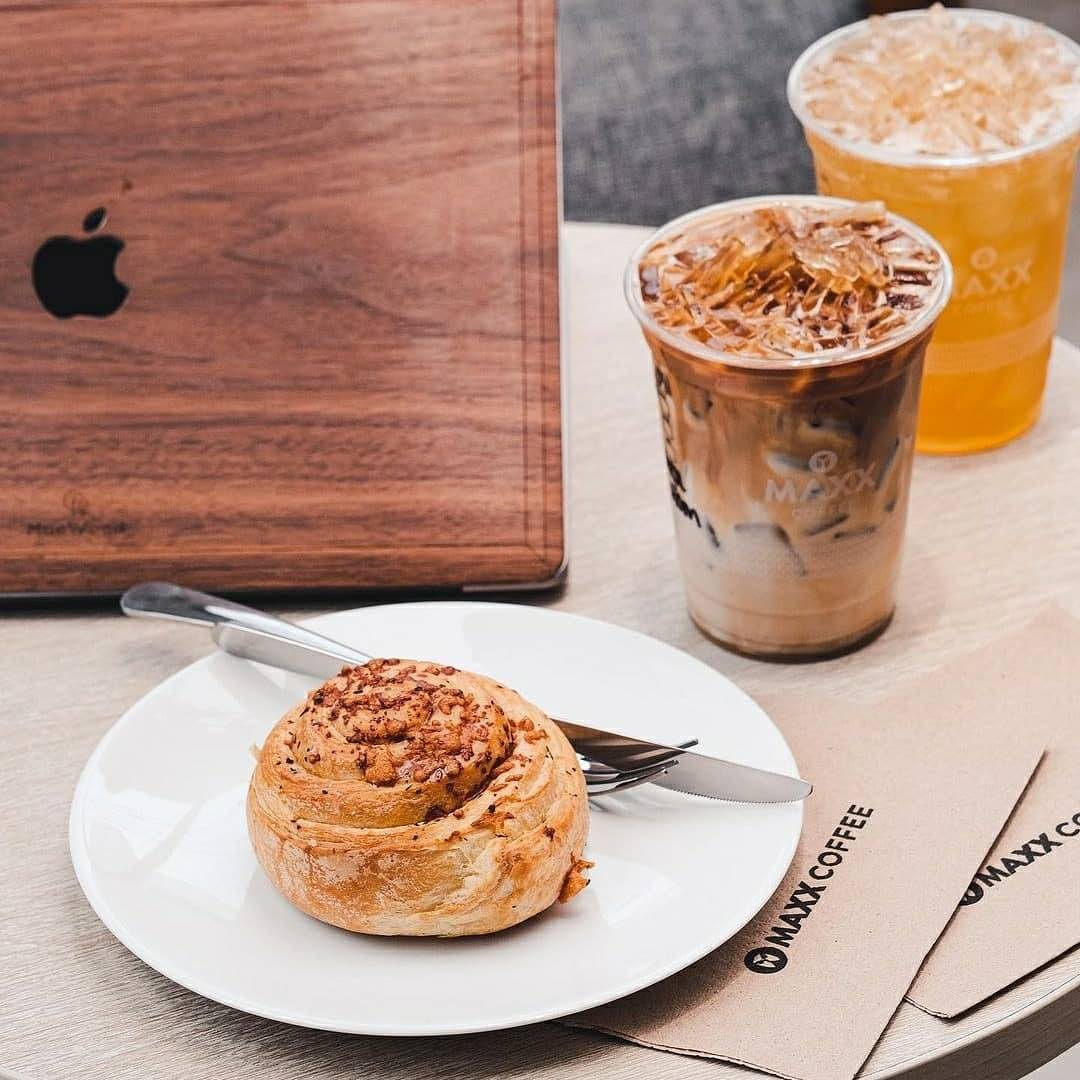 Promo diskon Maxx Coffee Diskon 50% Untuk Makanan