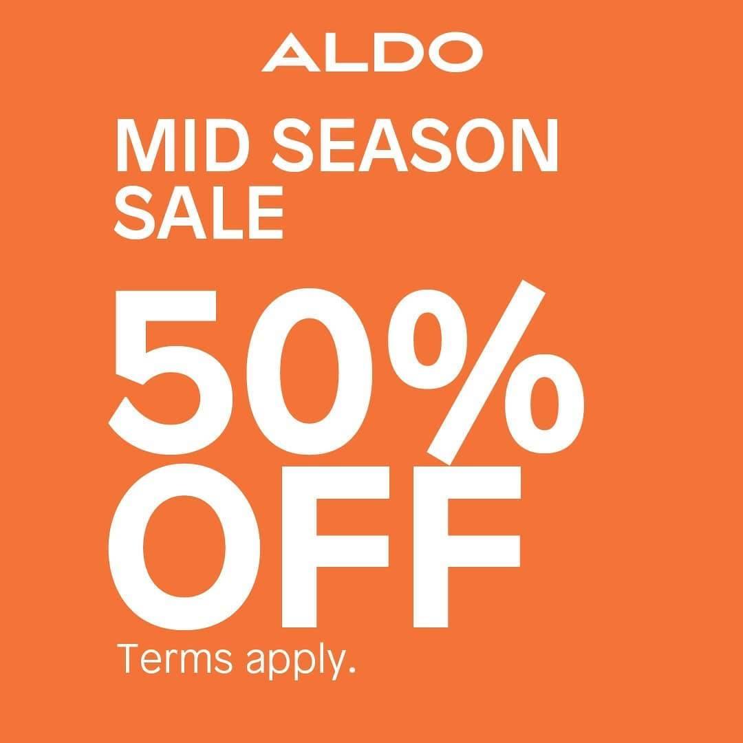Diskon Aldo Shoes Mid Season Sale 50% Off
