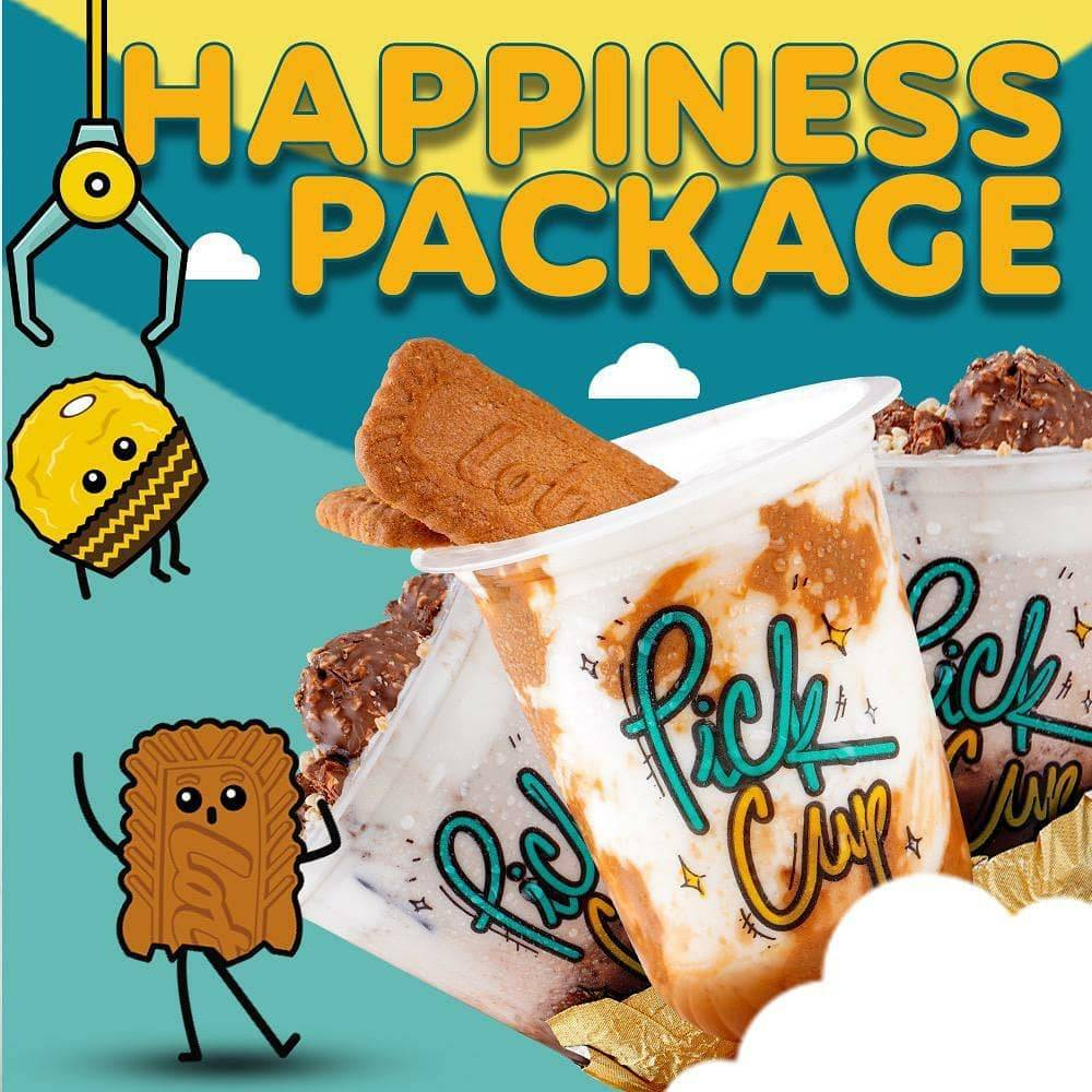 Diskon Pick Cup Promo Happiness Package Start From Rp. 69.000