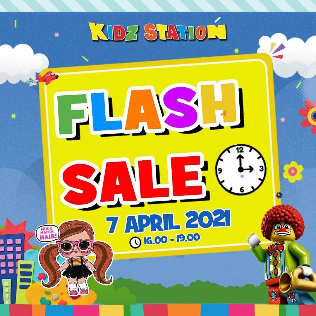 Diskon Kidz Station Flash Sale Up To 50% Off