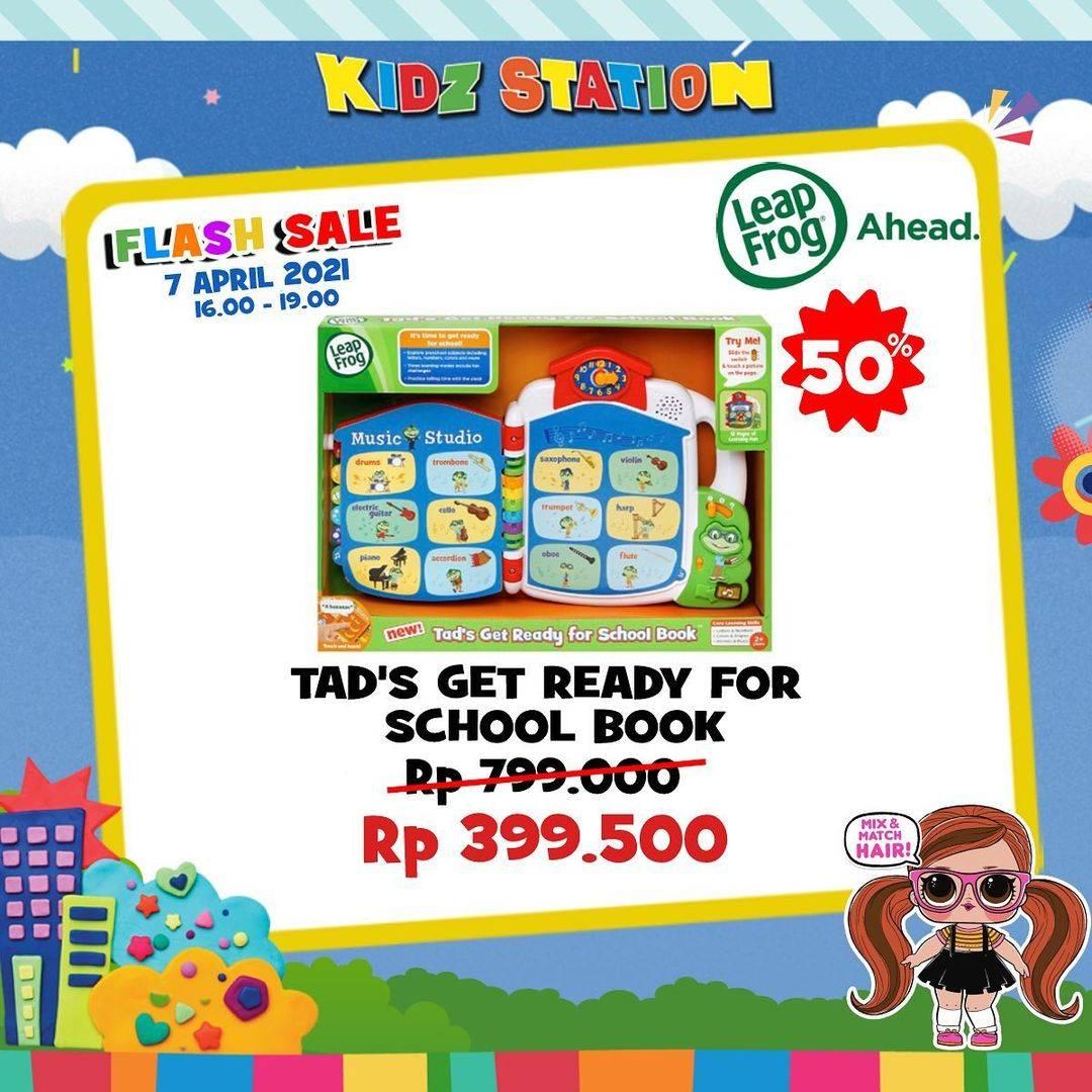Promo diskon Kidz Station Flash Sale Up To 50% Off