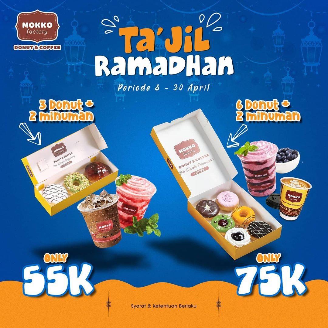Diskon Mokko Factory Promo Ta'Jil Ramadhan Harga Mulai Dari Rp. 55.000