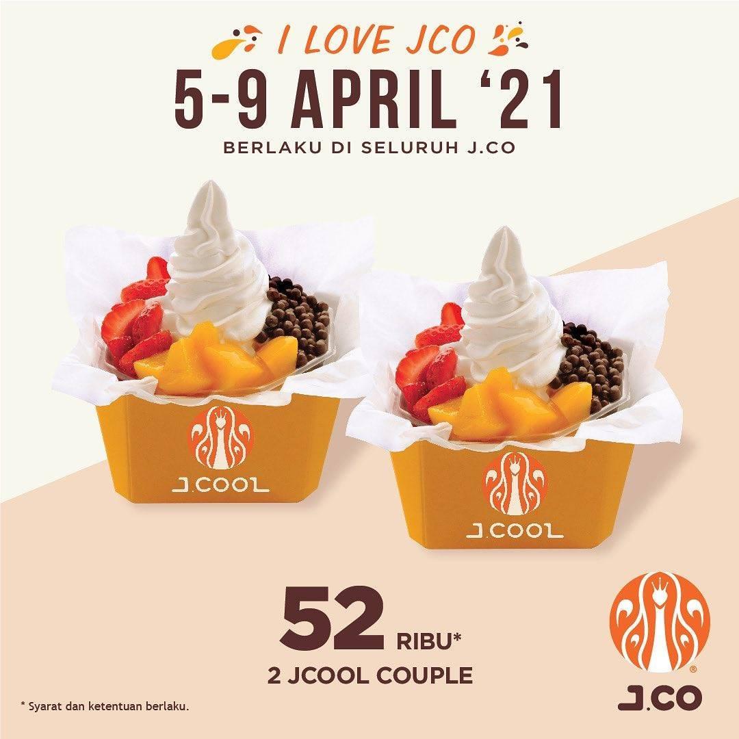 Diskon JCO Promo 2 JCool Couple Hanya Rp. 52.000
