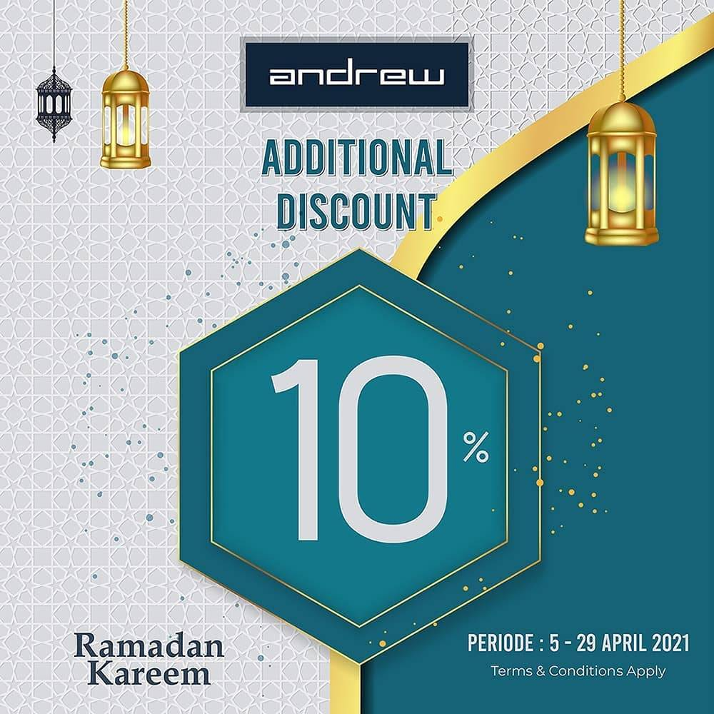 Diskon Andrew Shoes Additional Discount 10% Off
