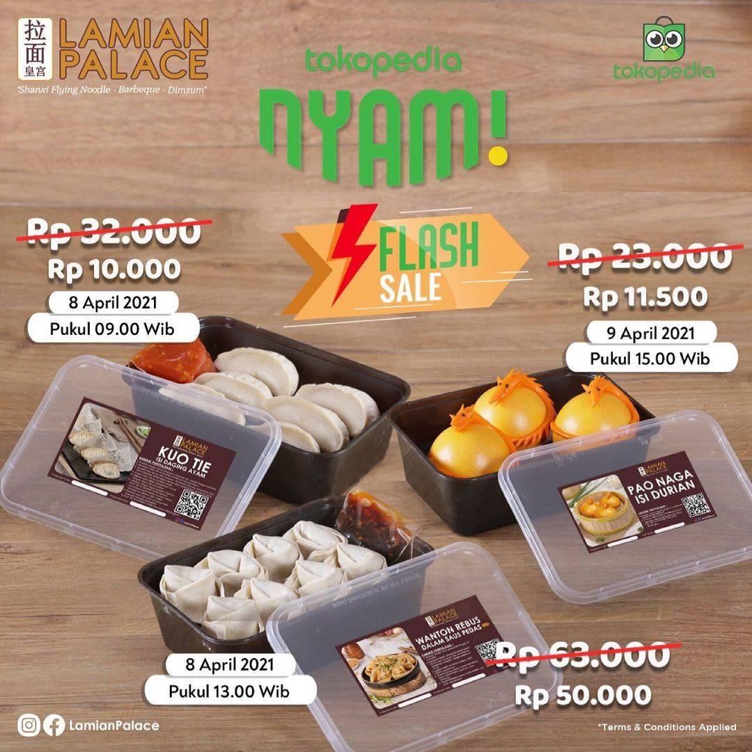 Diskon Lamian Palace Flash Sale On Tokopedia