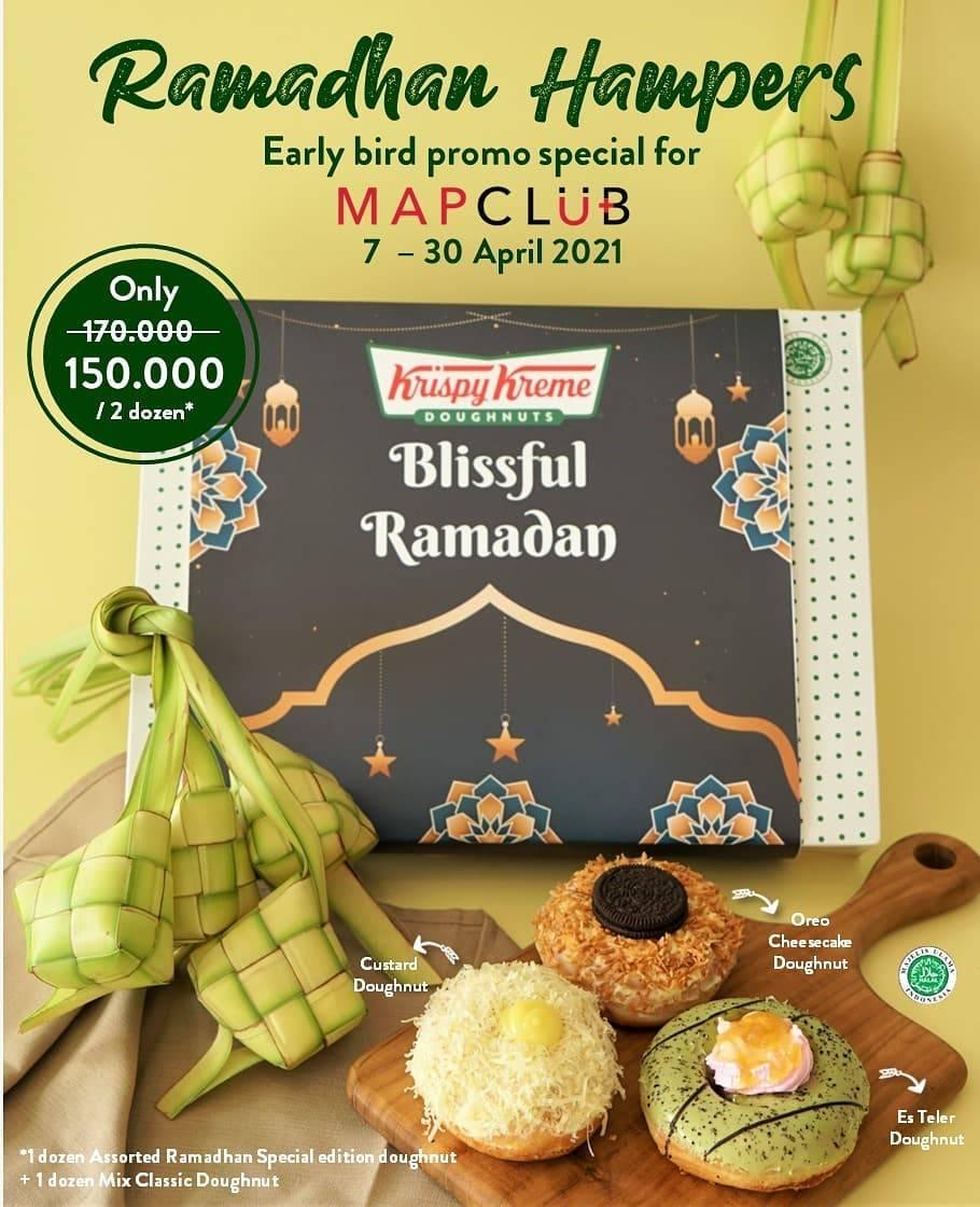 Diskon Krispy Kreme Ramadhan Hampers Only For Rp. 150.000 On MAPClub