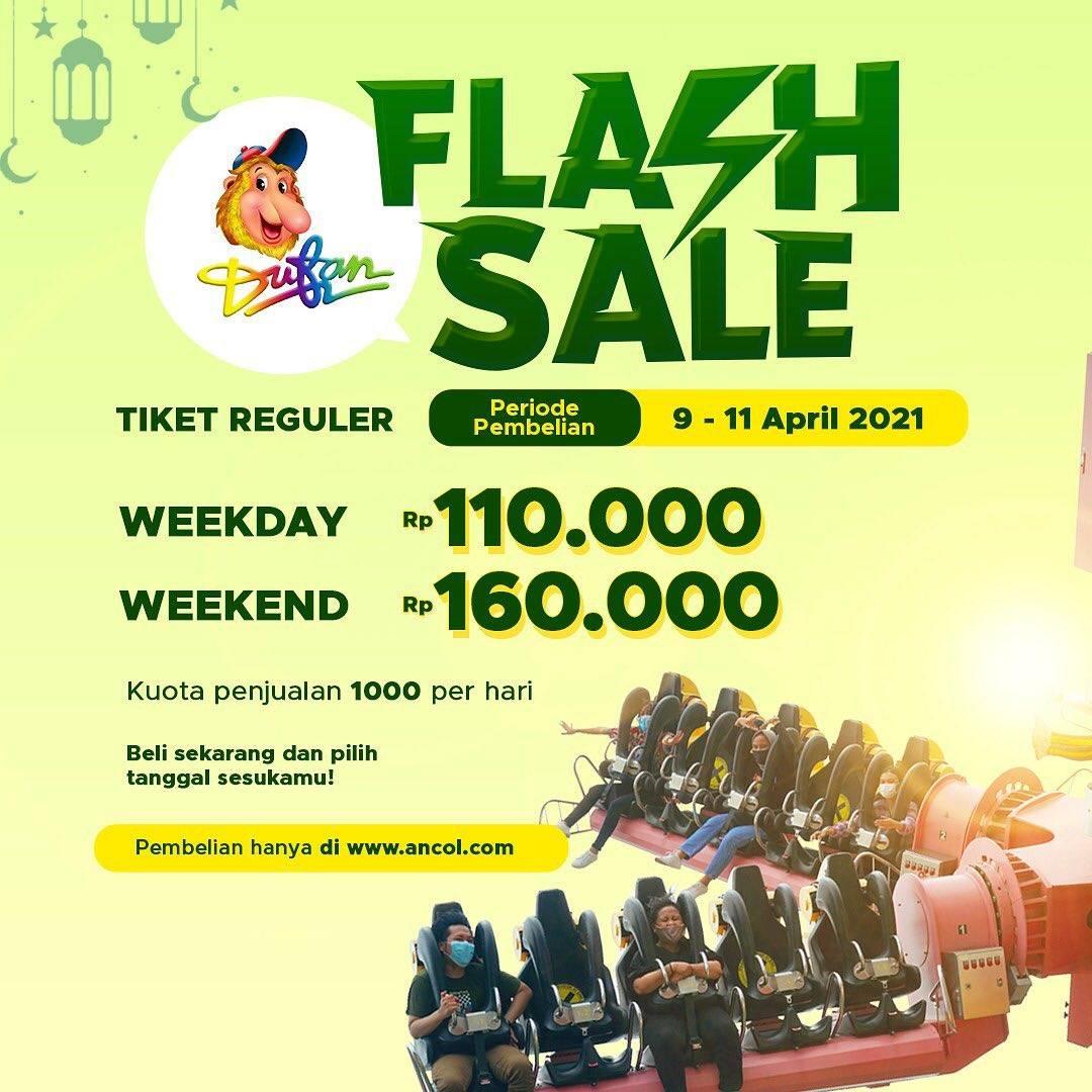 Diskon Dufan Flash Sale Tiket Reguler Harga Mulai Dari Rp. 110.000