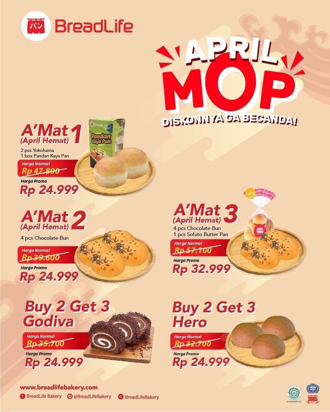 Diskon Breadlife Promo April Mop Harga Mulai Dari Rp. 24.999