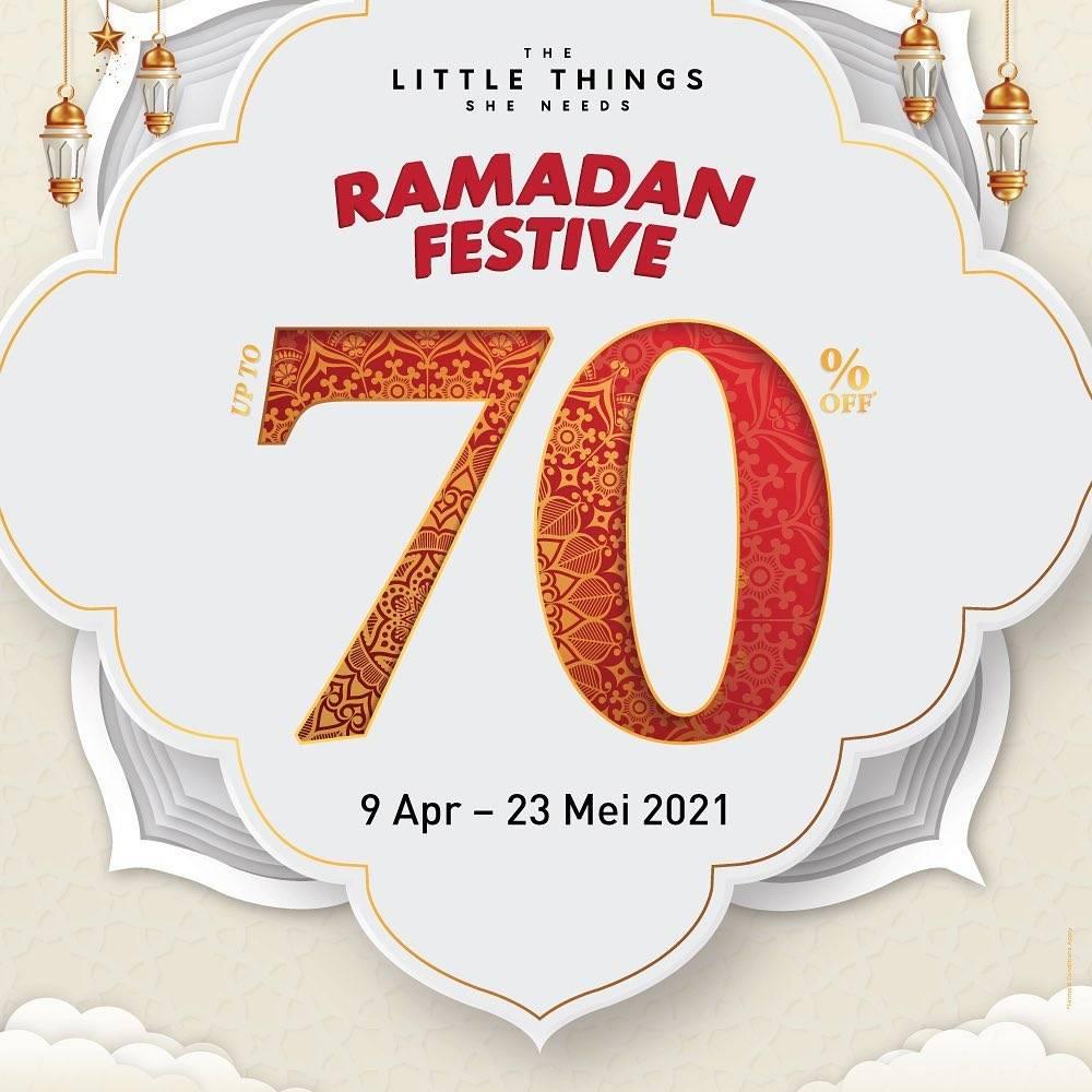 Diskon The Little Things She Needs Ramadan Festive Discount 70% Off