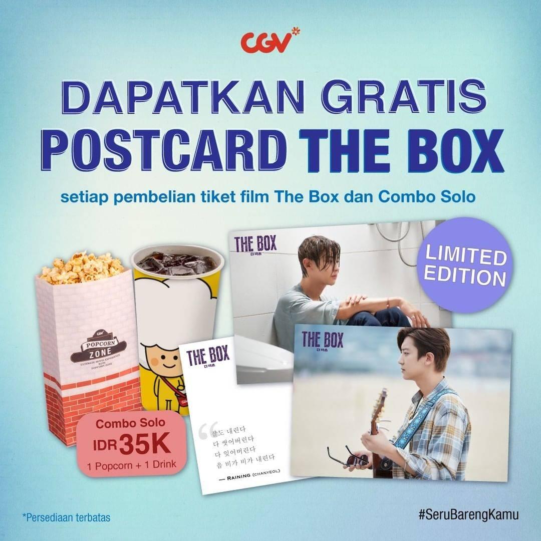 Diskon CGV Gratis Postcard The Box