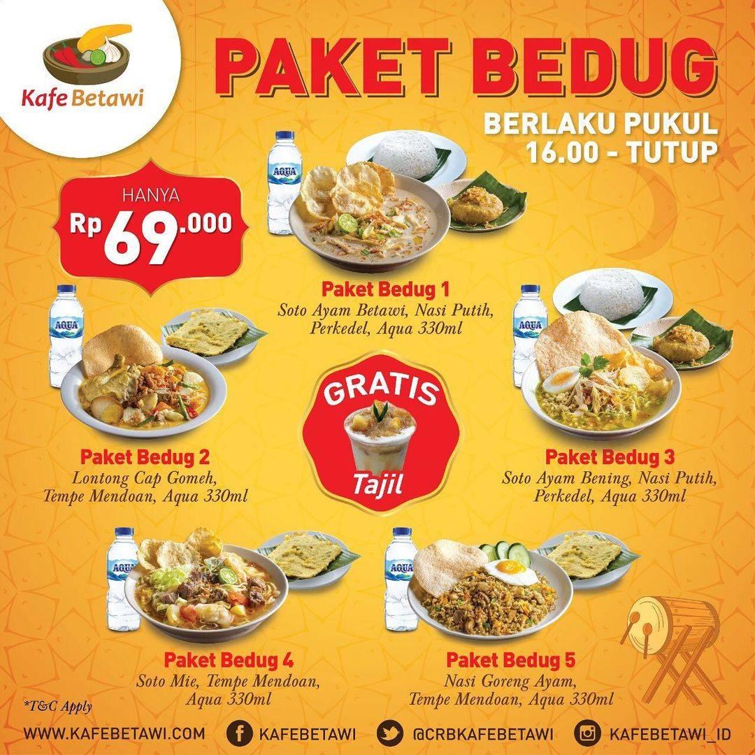 Diskon Kafe Betawi Promo Paket Bedug Hanya Rp. 69.000