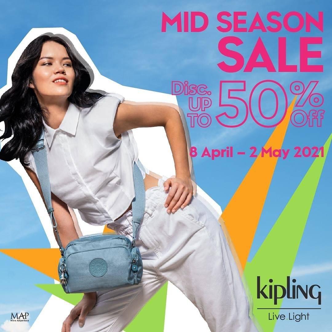 Promo diskon Kipling Discount Up To 50% Off