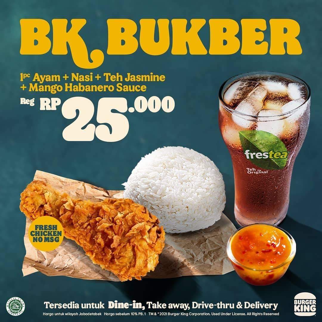Diskon Burger King Promo BK Bukber Harga Mulai Dari Rp. 25.000