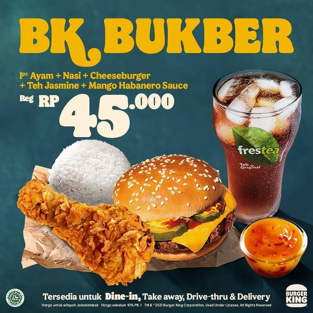 Promo diskon Burger King Promo BK Bukber Harga Mulai Dari Rp. 25.000