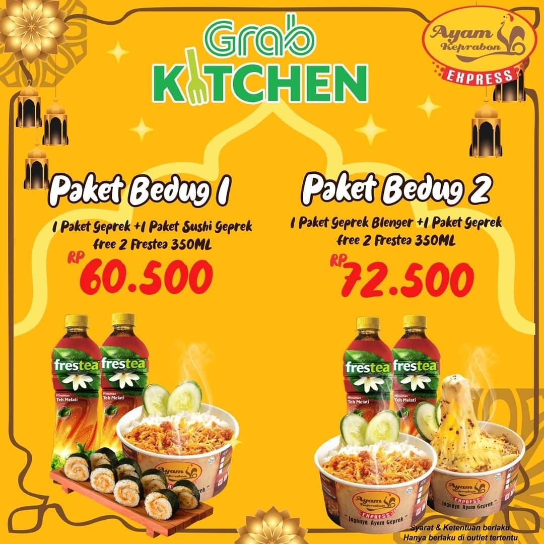Diskon Ayam Keprabon Promo Paket Bedug & Bukber Dengan GrabKitchen