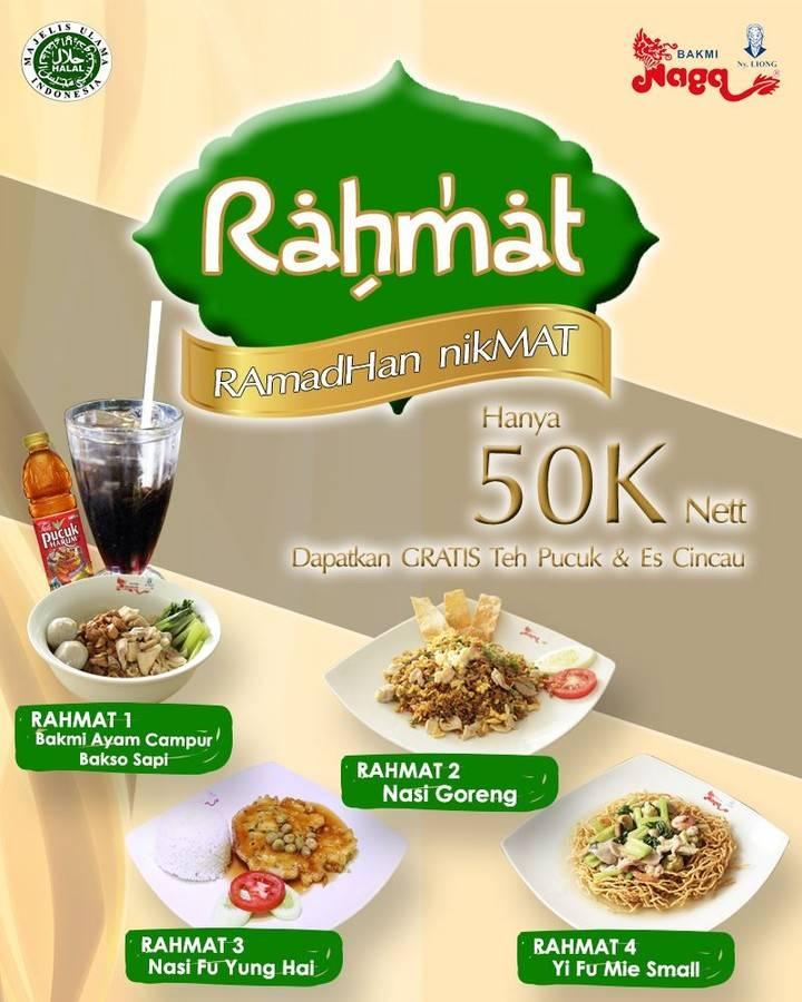 Diskon Bakmi Naga Promo Ramadhan Nikmat Menu Serba Rp. 50.000