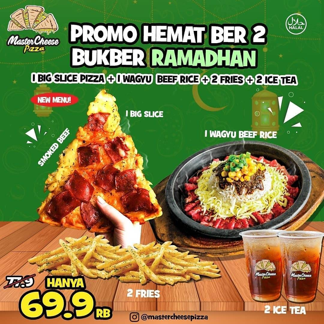 Diskon Mastercheese Pizza Promo Paket Bukber Ramadhan