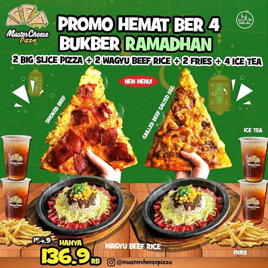 Promo diskon Mastercheese Pizza Promo Paket Bukber Ramadhan