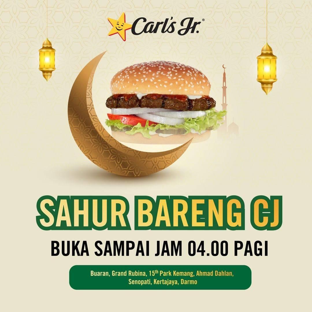 Diskon Carls Promo Paket CJ Sahur Harga Hanya Rp. 75.000