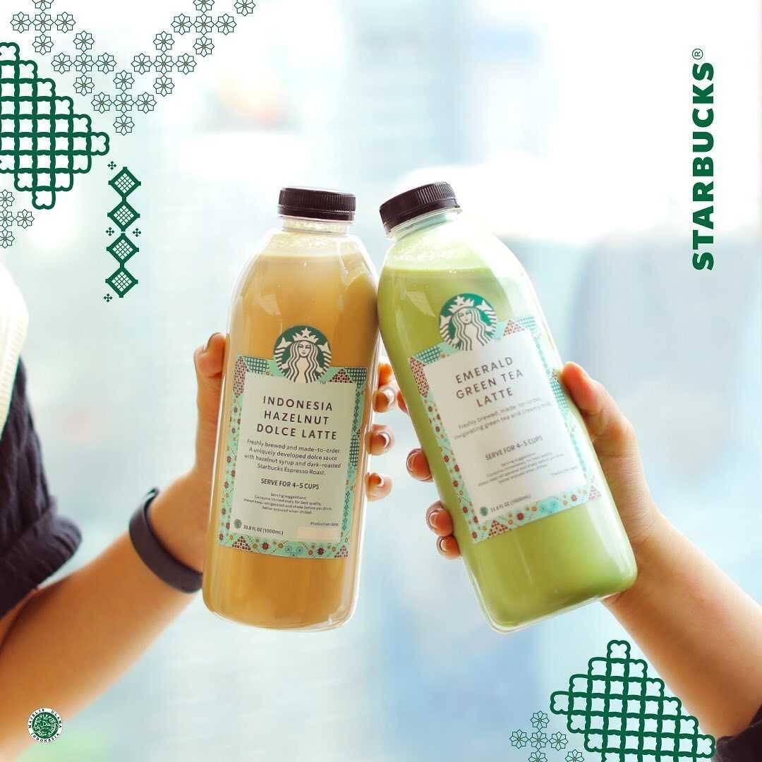 Diskon Starbucks 2L Beverages Only For Rp. 100.000