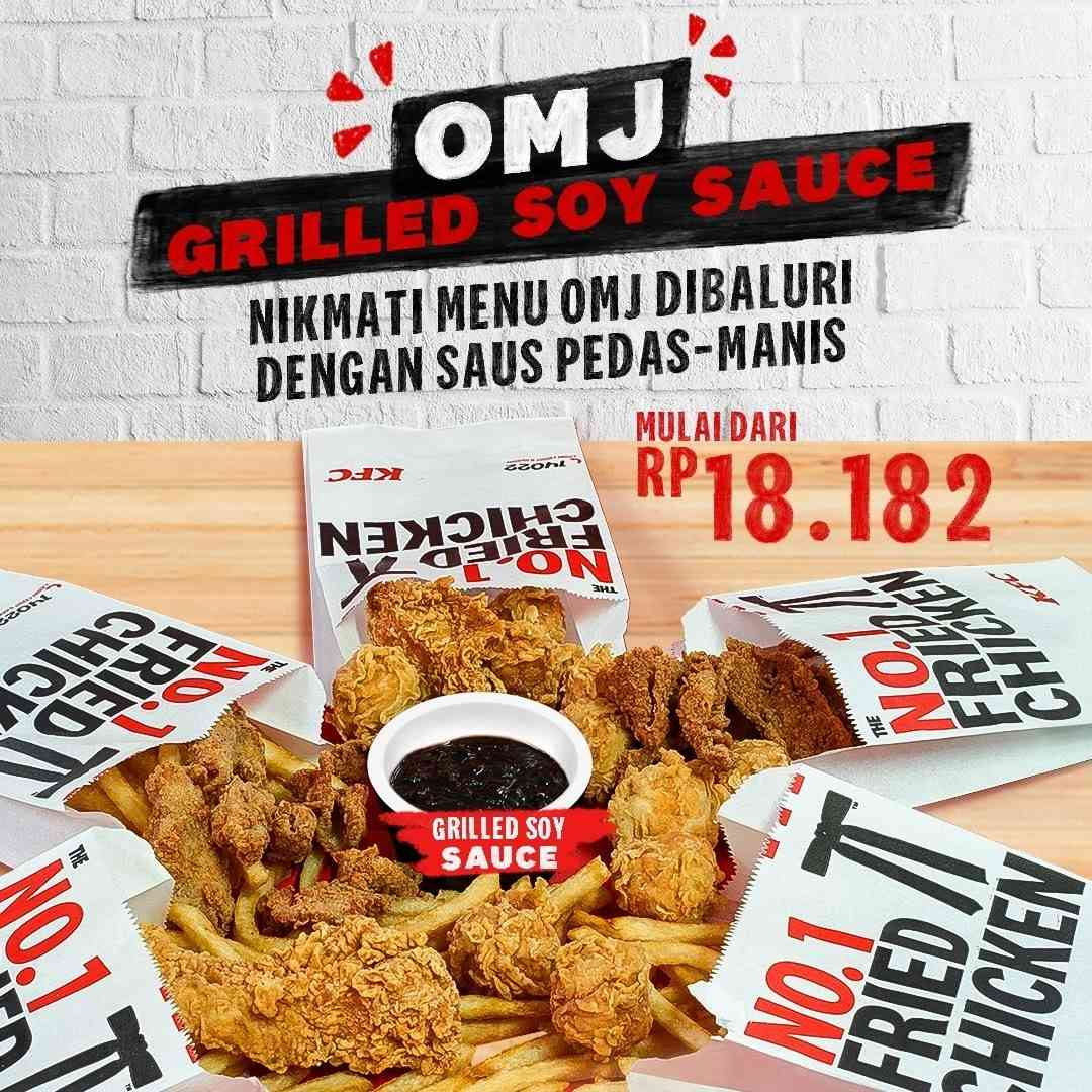 Diskon KFC Promo OMJ Grilled Sauce Mulai Dari Rp. 18.182