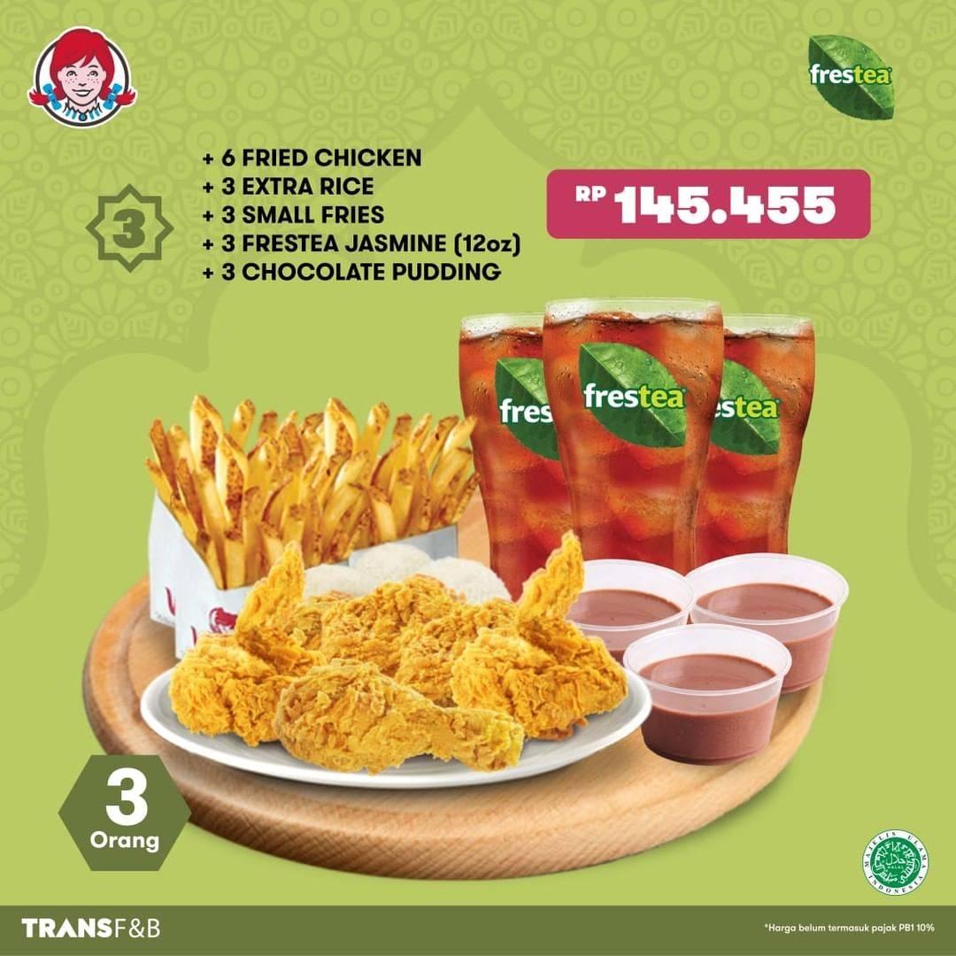 Promo diskon Wendys Promo Paket Puas Ramadhan