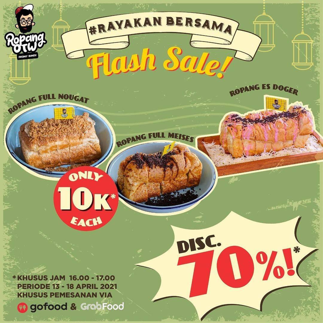 Diskon Ropang OTW Flash Sale Discount 70% Off