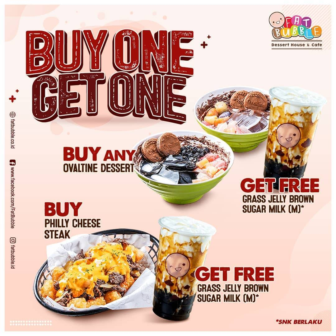 Diskon Fat Bubble Buy 1 Get 1 Free