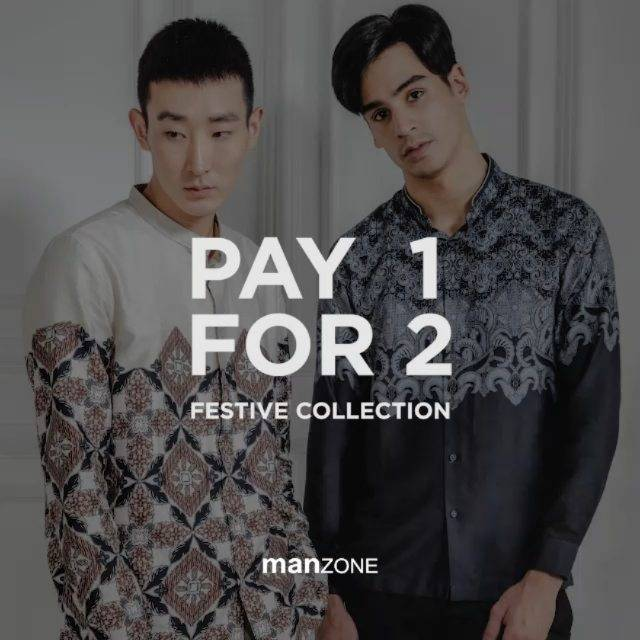 Diskon Manzone Pay 1 For 2