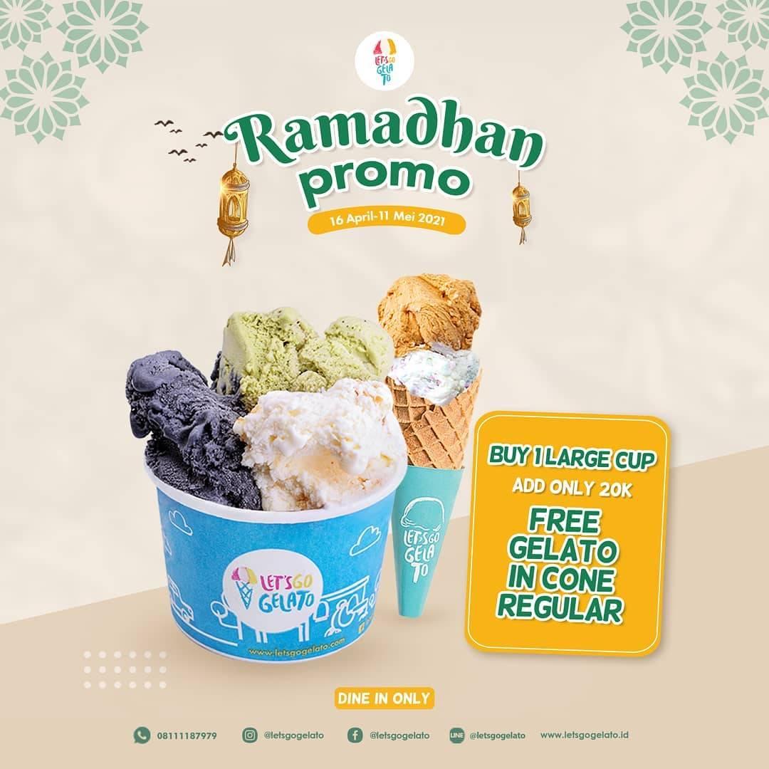 Diskon Let's Go Gelato Ramadhan Promo Buy 1 Get 1 Free