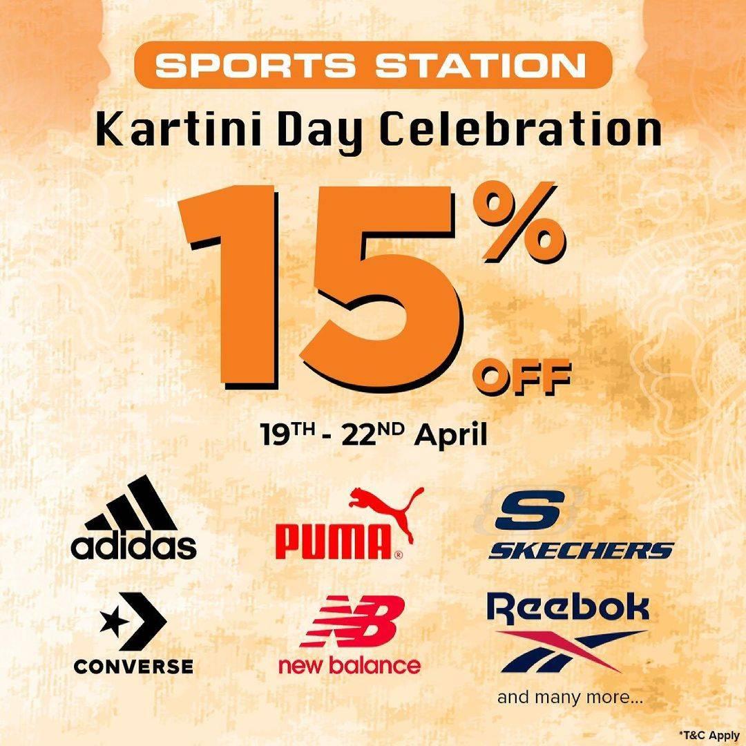 Diskon Sport Station Kartini Day Celebration Discount 15% Off On Selected Brands